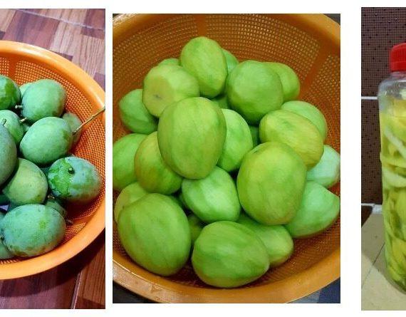 Cara lengkap untuk membuat Jeruk Mangga Epal yang rangup dan sedap