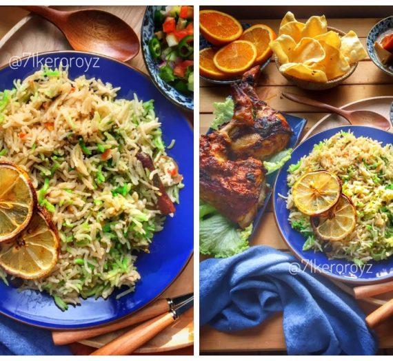 Cara untuk membuat Nasi Ketumbar yang sangat menyelerakan. Sesuai digandingkan dengan pelbagai menu lain.
