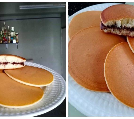 Cara untuk membuat Pancake Dorayaki yang sedap elok gebu untuk anda cuba.