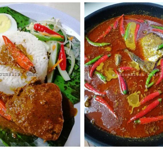 Resepi dan cara lengkap untuk membuat Nasi Dagang termasuk Gulai Ikan Tongkol / Ikan Aya dan Acar Sayur.