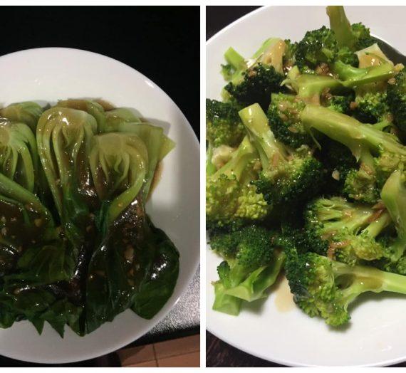 Cara untuk membuat Sayur Brocoli & Sayur Pak Choy masak Sos Tiram yang menyelerakan.