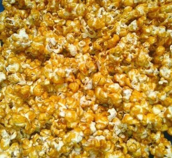Cara untuk membuat Popcorn Karamel. Mudah, Sedap dan pastinya disukai anak anda.