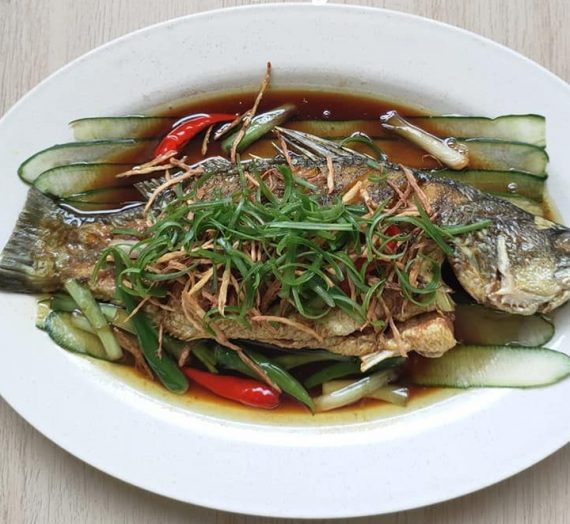 Cara dan video lengkap untuk membuat Ikan Siakap goreng dengan Kicap Cair bersama Halia. Sedapnya susah nak digambarkan.