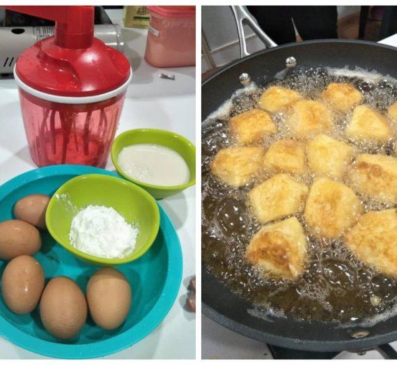 Cara mudah untuk membuat Tofu Jepun atau Tofu Telur hanya dengan 3 Bahan Sahaja.