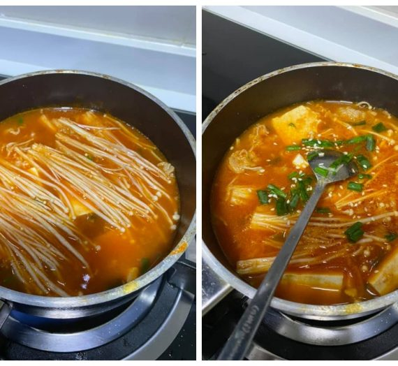 Jom cuba makanan korea yang sedap ini. Soondubu Jigae ataupun Tofu Beef Stew.