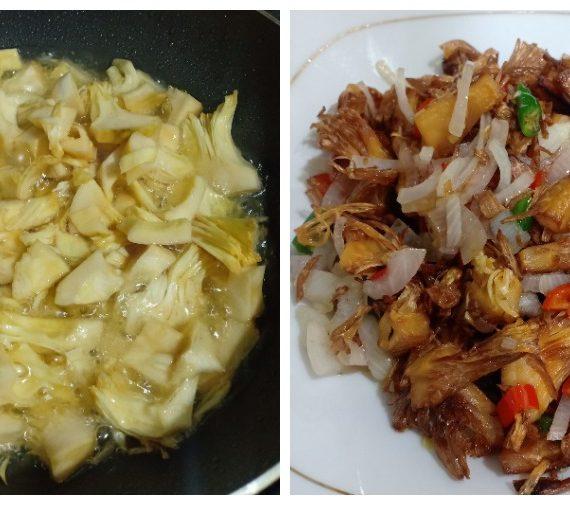 Cara untuk membuat Kulit Cempedak Goreng atau Mandai. Makanan kegemaran Masyarakat Banjar.
