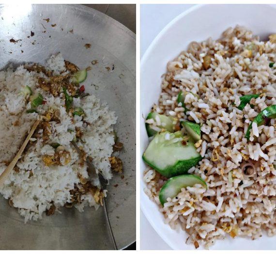Resepi dan cara untuk membuat Nasi Goreng Budu yang akan membuat anda tersenyum sendiri.
