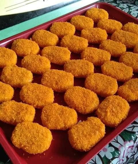 Cara mudah untuk membuat Nugget Nasi Isi Ayam yang menyelerakan. – MY Resepi