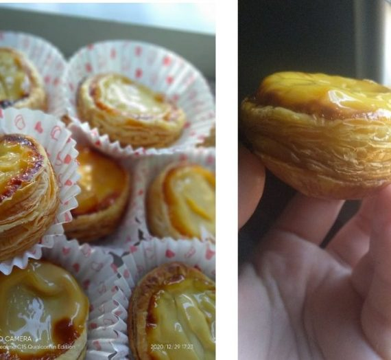 Cara untuk membuat Portugis Egg Tart yang rangup diluar dan lemak berkrim didalam.