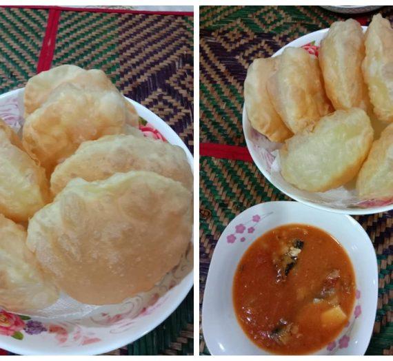 Resepi sarapan pagi yang mudah. Cara untuk membuat Roti Puri yang menyelerakan.