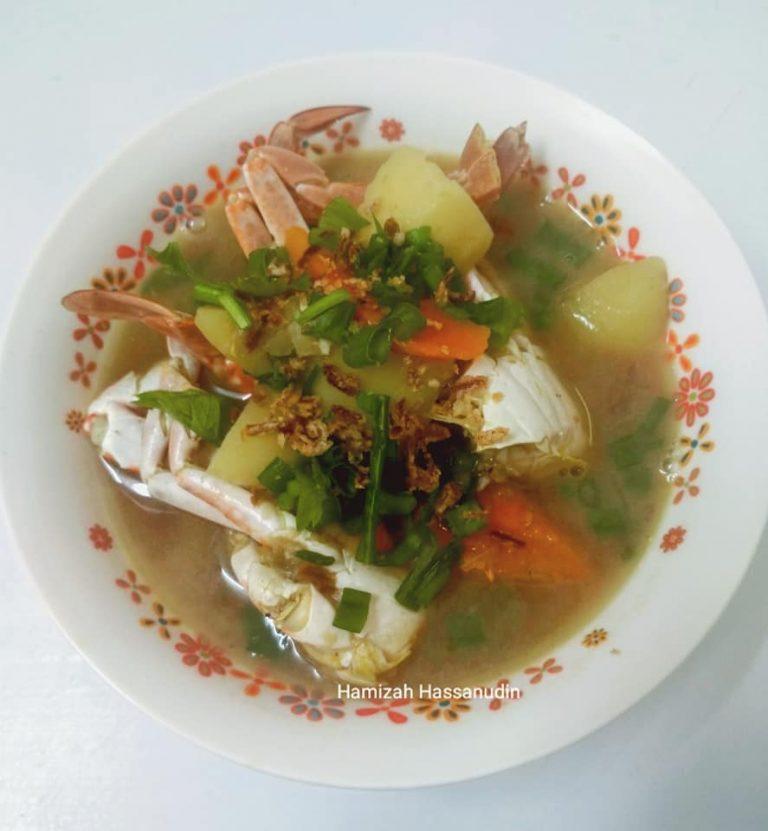 Cara untuk membuat Sup Ketam yang sedap dengan mudah. – MY Resepi
