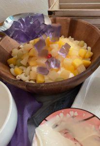 Cara untuk membuat Salad Makaroni Buah. Salad popular dari