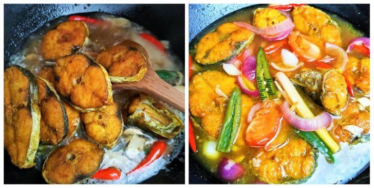 membuat ikan tenggiri masak asam jawa menu  tambah nasi ni tau  resepi Resepi Ikan Putih Masak Asam Pedas Enak dan Mudah