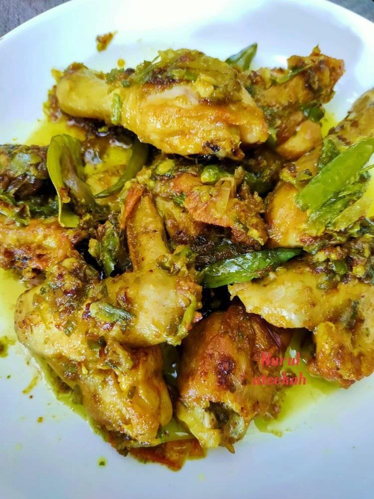 membuat masakan ayam goreng cabai hijau padu  enak  menu berbuka Resepi Ayam Masak Madu Enak dan Mudah