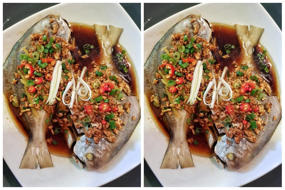 ringkas tapi sedap  membuat ikan bawal masak stim chinese style resepi sesuai Resepi Ikan dan Ringkas Enak dan Mudah