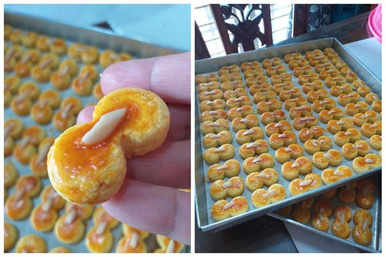 Cara untuk Biskut Almond Crunchy. Biskut yang mudah dan senang disediakan. – MY Resepi